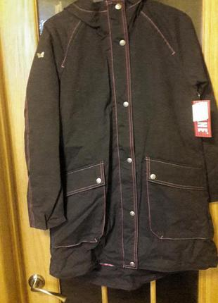 Демисезонная куртка парка для девочки lenne piia. размеры 134 и 152.