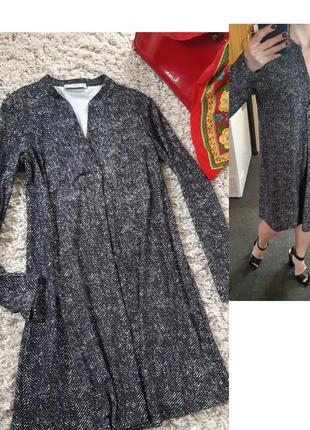 Стильное платье свободного кроя, mango,  p. l-xl