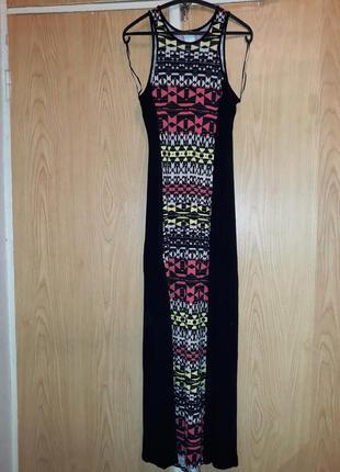 Літня сукня-сарафан довга