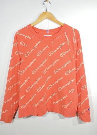 Champion l свитшот кофта женская толстовка свитер