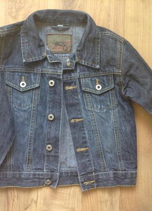 Жакет,кофта  джинс розмір-116
