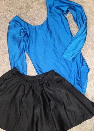 Трико,купальник,боди с юбкою для танцев и гимнастики