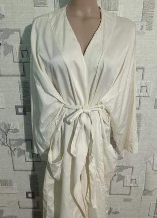 Шелковый халат из 100% шёлк