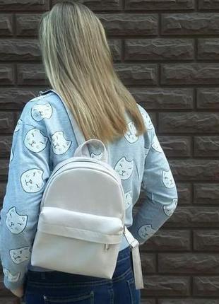 Стильный мини рюкзак с козырьком)))
