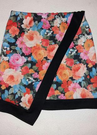 Цветная юбка плотный эластан, atmosphere