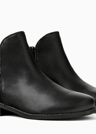 Кожаные ботиночки zara. размер 29, 31
