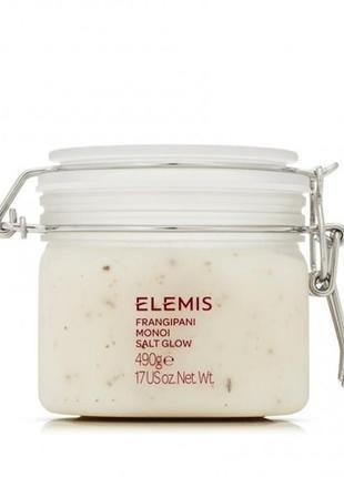 Солевой скраб (пилинг) для тела франжипани монои elemis frangipani monoi salt glow 490 г