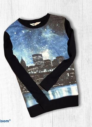 H&m тоненький реглан весенний свитер для мальчика 8-10 лет