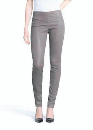 Лосины штаны натуральная стрейч кожа новые
