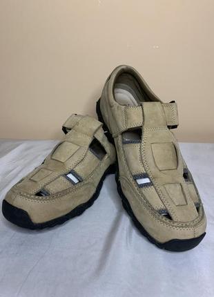 Кожаные сандали, босоножки timberland