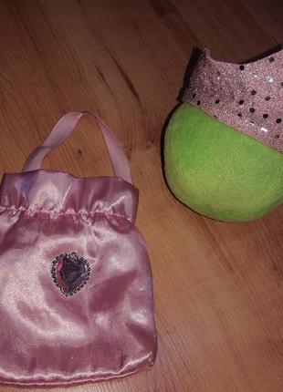Аксессуары для принцессы/ сумочка , корона