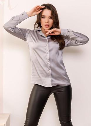 Шелковая рубашка