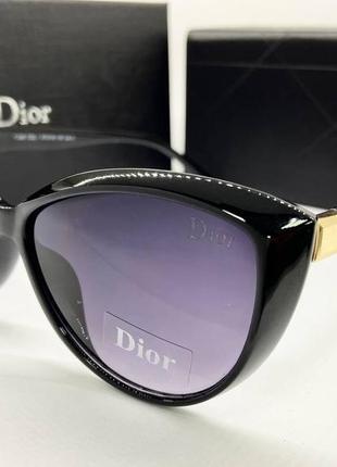 Dior очки солнцезащитные женские, черные солнцезащитные очки женские