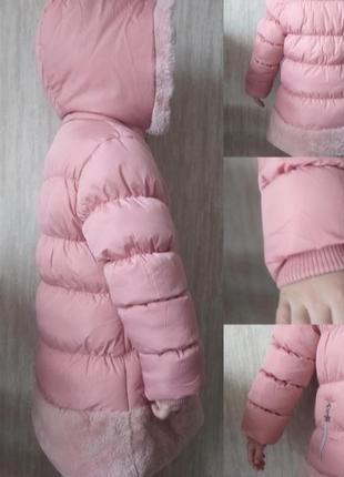 Новый пухивик зима для девочки