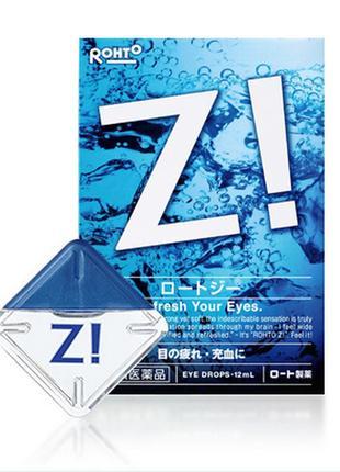 Японские глазные капли rohto z eye drops 12ml