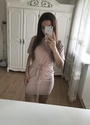 Платье футболка asos