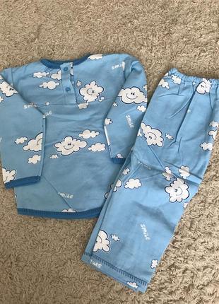 Пижамка на мальчика утепленная