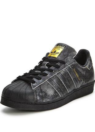 Кожаные кроссовки adidas superstar 81793