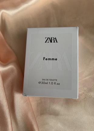 Zara femme - це аромат для жінок.
