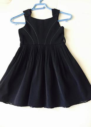 Сарафан, платье школьное.