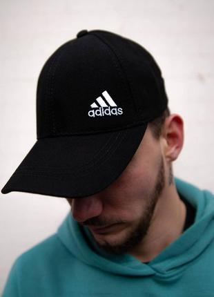 Кепка adidas черная бейсболка адидас