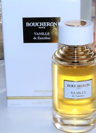Boucheron vanille de zanzibar оригинал_eau de parfum 3 мл затест_парфюм.вода