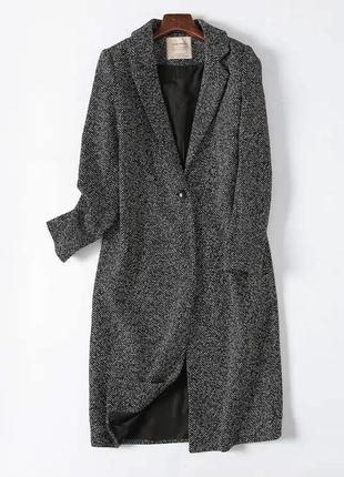 Пальто zara из шерсти