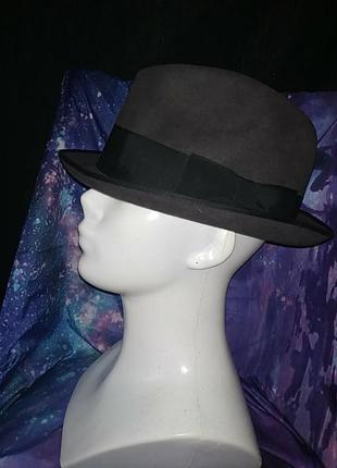 Крутая винтажная фетровая шляпа j. heinrita ita