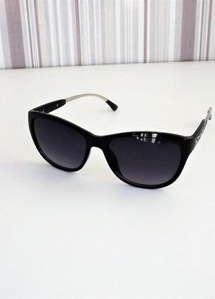 Очки солнцезащитные женские bvl 803 чёрный глянец.
