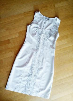 Потрясающе красивое нарядное платье + пиджак р.46