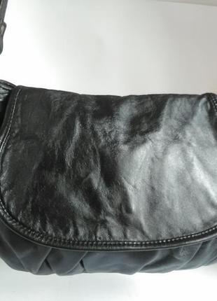 Удобная милая кожаная сумка кросс боди,натуральная кожа,