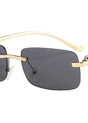 Сонячні окуляри металеві солнечные очки