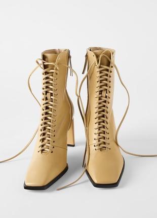 Ботинки на каблуке сапоги