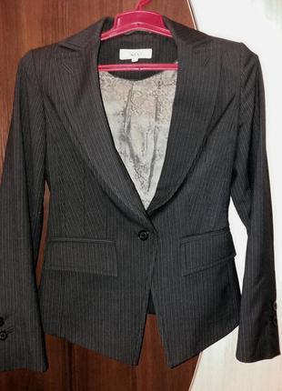 Стильный деловой, офисный пиджак, next