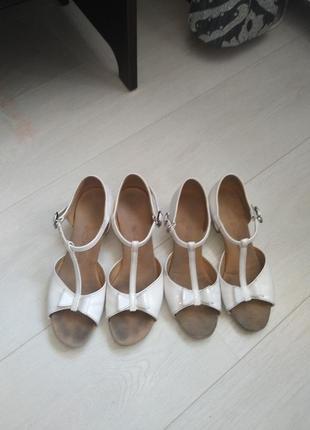 Туфли для танцев 21см.
