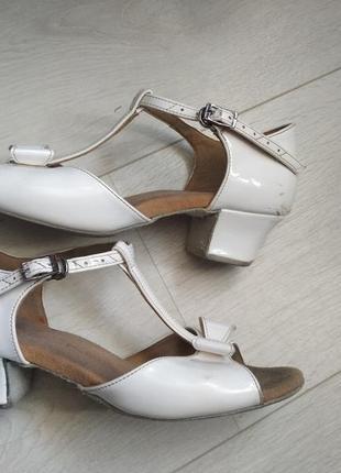 Туфли бальные латина 22см
