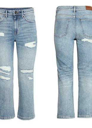 Укороченные джинсы h&m, 28 р