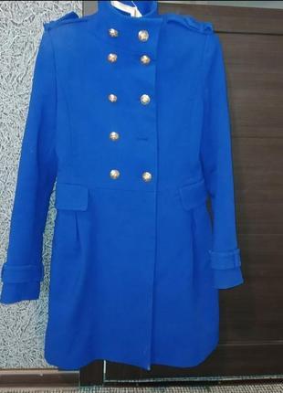 Zara куртка весенняя демисезон парка косуха пальто плащ