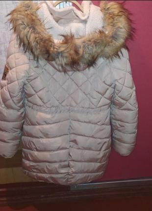 Куртка весенняя демисезон парка косуха пальто
