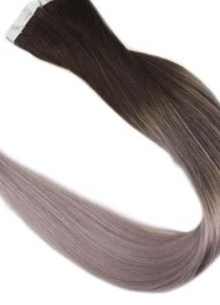 Натуральные волоси на лентах