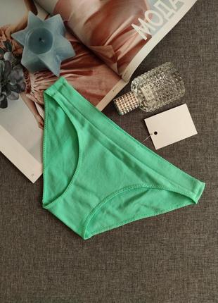 № 016 бесшовные трусики,бикини,слипы,бесшовки,микрофибра,цвет зеленое яблоко