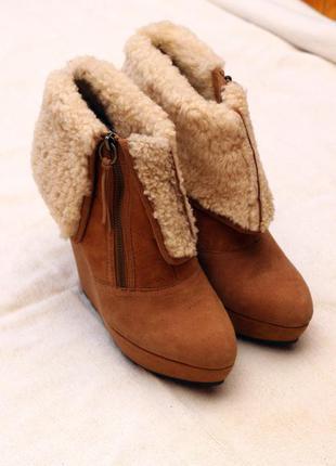 Зимние ботинки ash 41р.