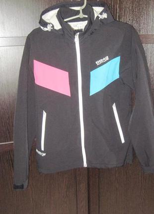 Altitude 8848 куртка городская с мембраной duratec softshell  размер s