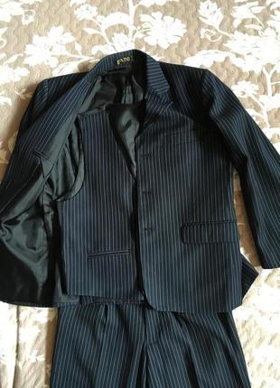 Школьный костюм тройка для мальчика rado, размер 58
