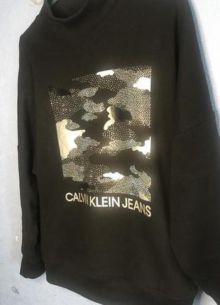 Свитшот свитер толстовка calvin klein