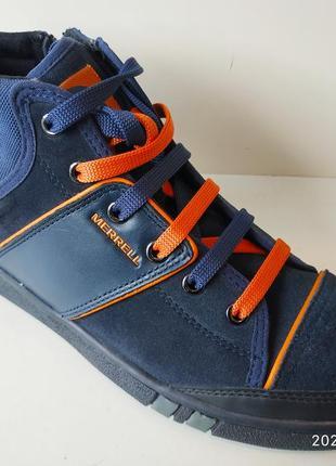 Замшеві кросівки marrell
