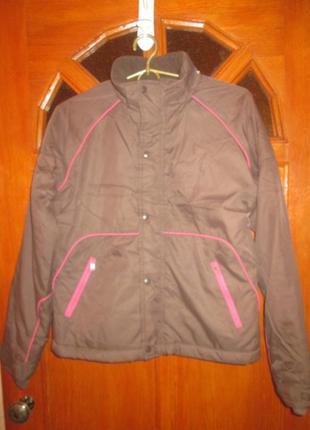"""Куртка утеплённая  демисезонная для девочки. """"zara"""""""