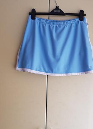 Спортивна тенісна спідниця-шорти nike для занять спортом тенісом в зал