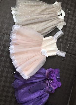 Праздничные платья на 3/4 года7 фото