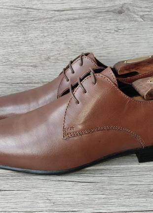 Next 40p туфли мужские кожаные индия